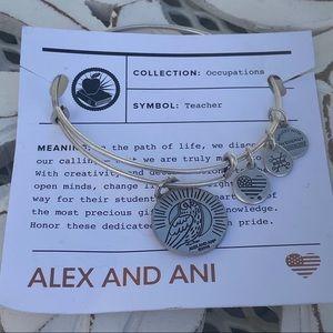 Alex & Ani Silver Tone Bracelet